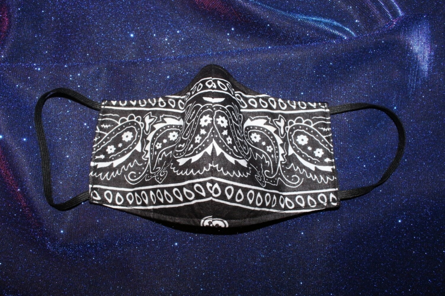 Black Paisley (Reversible)