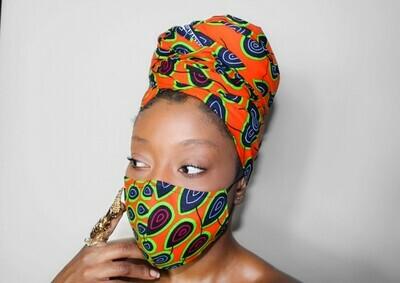 Radiate (Reversible Mask & Headwrap Set)