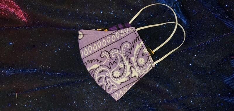 Lavender Paisley (Reversible)