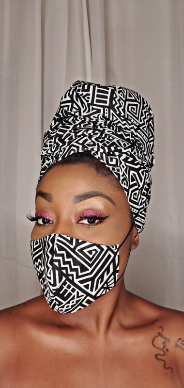 AZTEC (Headwrap and Mask Set)