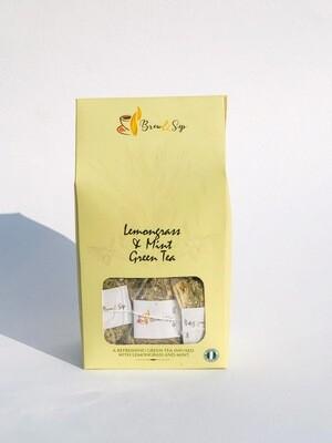 Lemongrass & Mint Green Tea