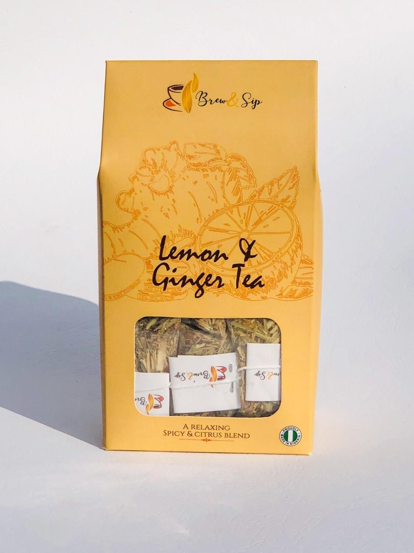 Lemon & Ginger Tea