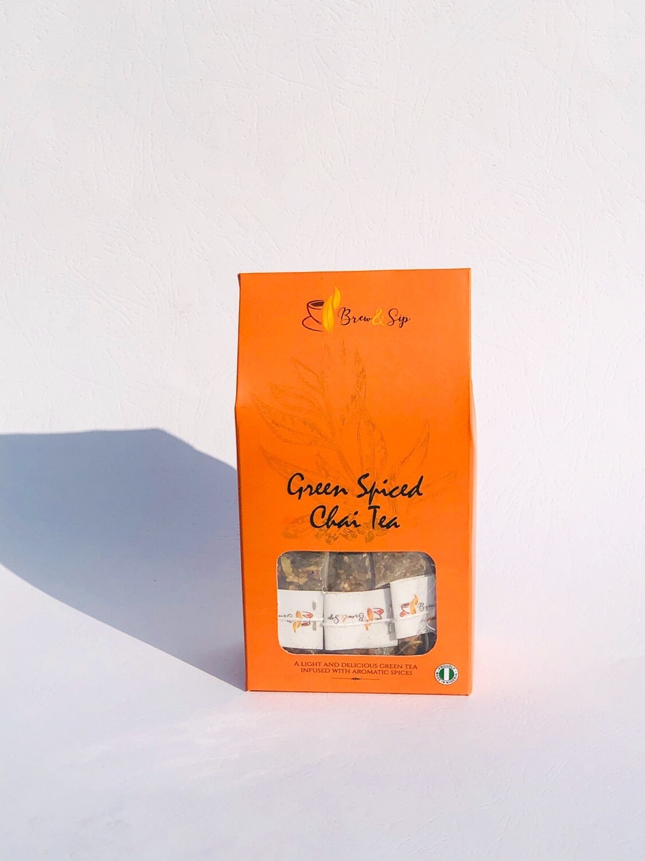 Green Spiced Chai Tea