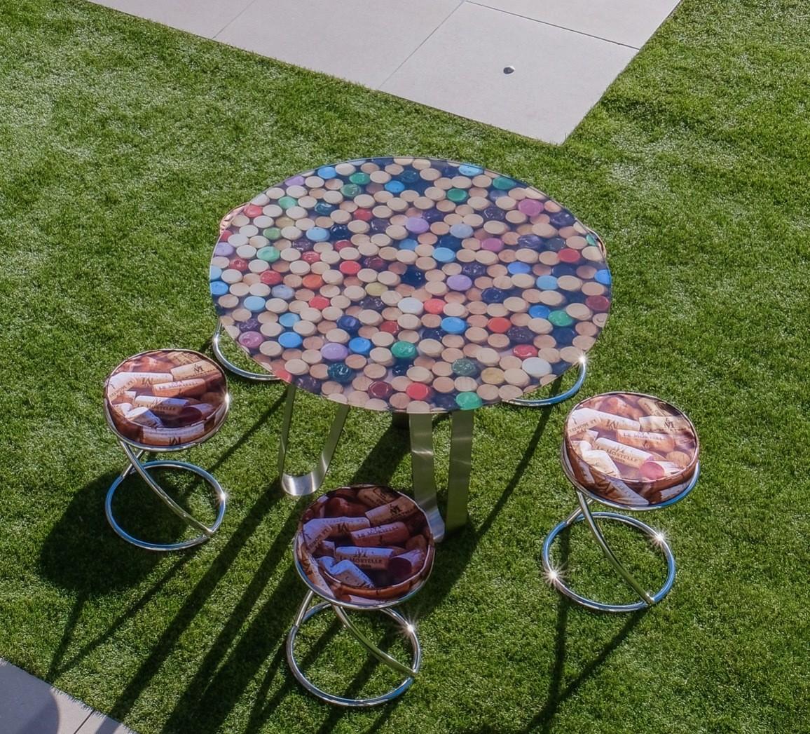 Table Circle - Bouchons