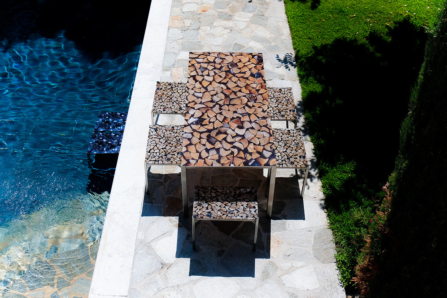 Table rectangle - Bois