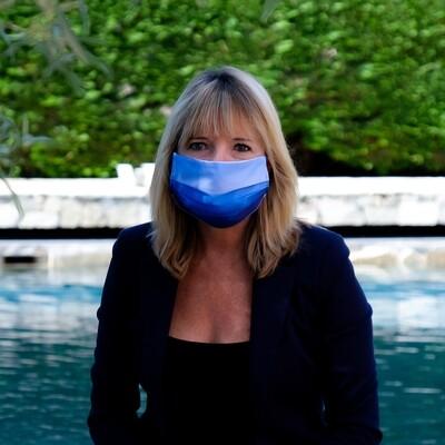 Masque accessoire de mode