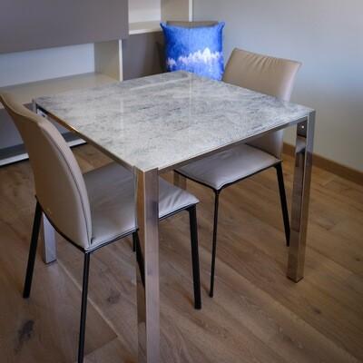 Table carré - Neige
