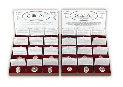 Celtic Porcelain Pendants Wholesale Starter Pack (24 Pendants)
