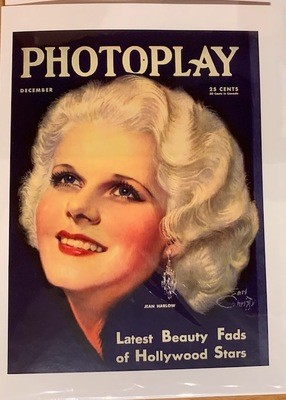 Note Card - Jean Harlow