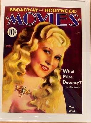 Note Card - Mae West