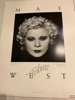 Academy Poster - Mae West