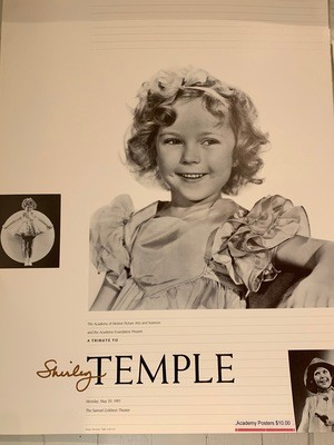 Academy Poster - Shirley Temple