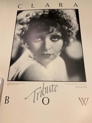 Academy Poster - Clara Bow