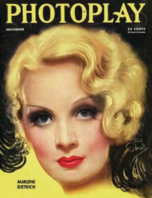 Note Card - Marlene Dietrich