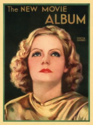 Note Card - Greta Garbo