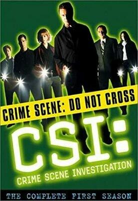 CSI: Crime Scene Investigation: Season 1 Box Set - DVD
