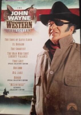 The John Wayne Western Collection - 5 Disc Set - DVD