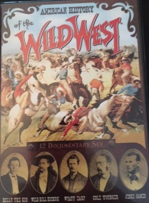 American History of the Wild West - DVD