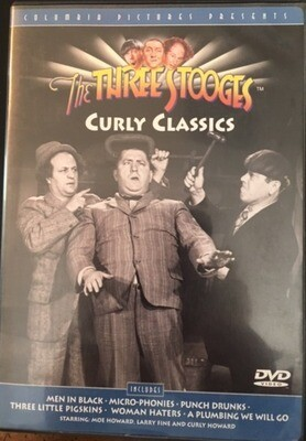 The Three Stooges – Curly Classics - DVD