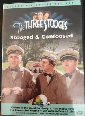 The Three Stooges – Stooged & Confoosed - DVD