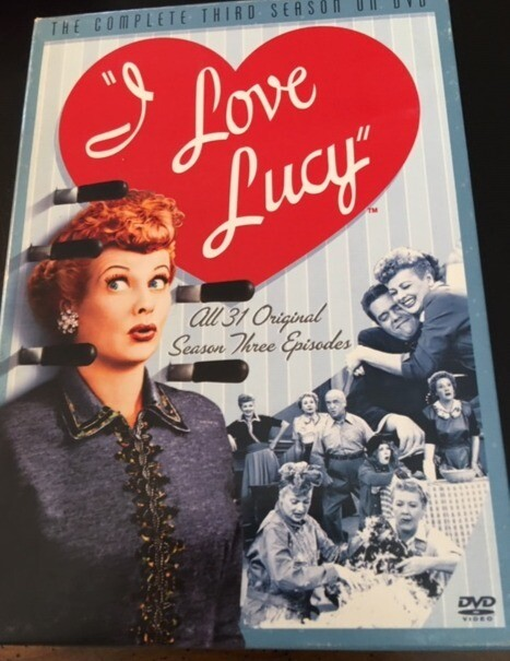 I Love Lucy –  Season Tree Episodes - DVD