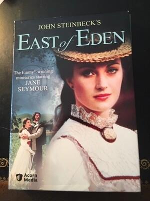 East of Eden – Jane Seymore Complete Mini Series – 3 Discs - DVD
