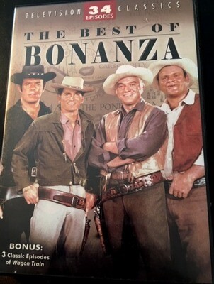 BEST OF BONANZA (DVD/4 DISC)