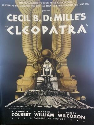 """Cleopatra"" Souvenir Program"