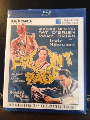 The Front Page -- DVD