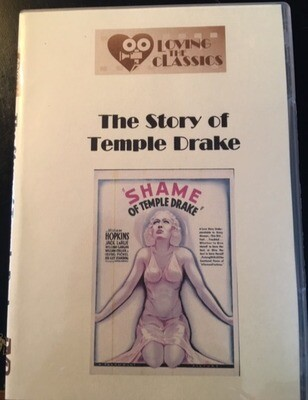 The Story of Temple Drake – 1933 (Loving the Classics) -- DVD