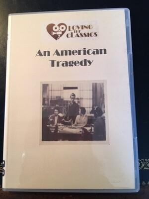 An American Tragedy - 1931 -- DVD