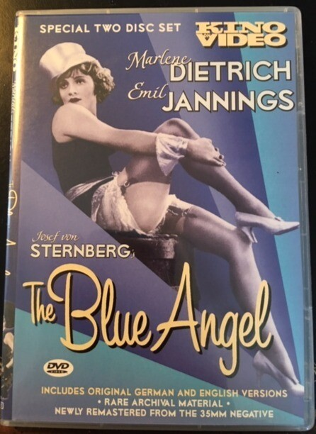 The Blue Angel (Kino Video) – DVD 2 disk