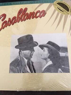 Casablanca – The Criterion Collection -RARE - Laser disc -- NEW