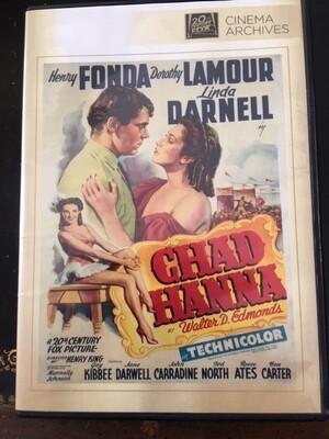 Chad Hanna -DVD