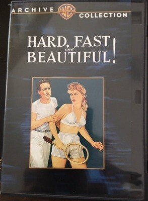 Hard, Fast and Beautiful by Ida Lupino Warner Brother's Archive Collection -- DVD