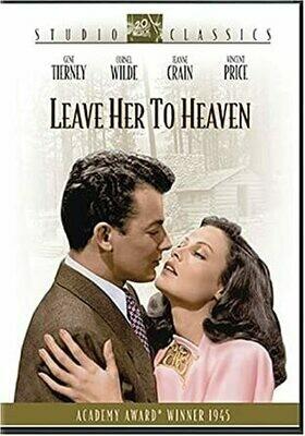Leave Her To Heaven – Fox Studio  - DVD