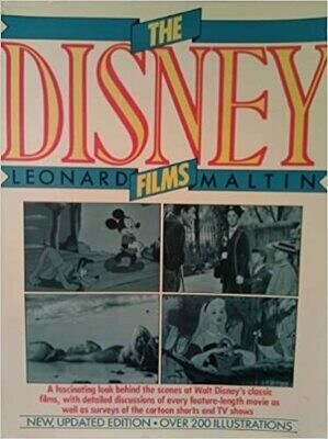 The Disney Films by Leonard Maltin