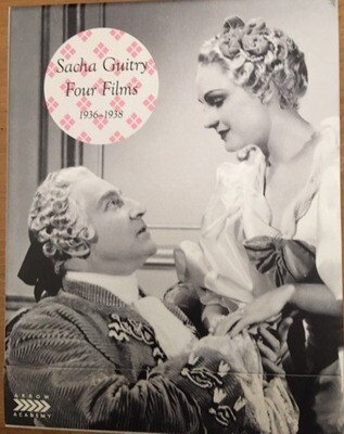 SACHA GUITRY: FOUR FILMS 1936-1938 LIMITED EDITION!