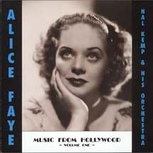 ALICE FAYE with Hal Kemp and His Orchestra MUSIC FROM HOLLYWOOD ( 3 CD set)