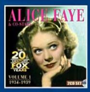 Alice Faye & Co-Stars - The 20th Century Fox Years Vol. 1 1934-1939 (2 DISKS)