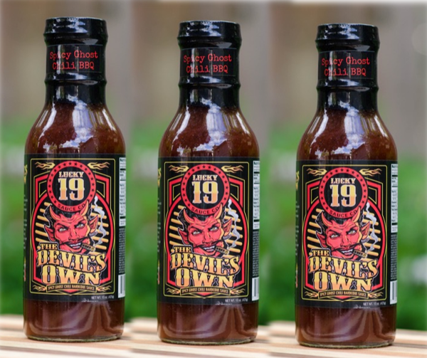 3 Pack - The Devil's Own Ghost Chili BBQ