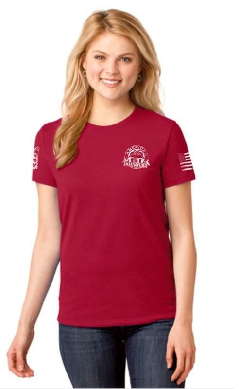 American Warfighters Ladies Short Sleeve T-Shirt