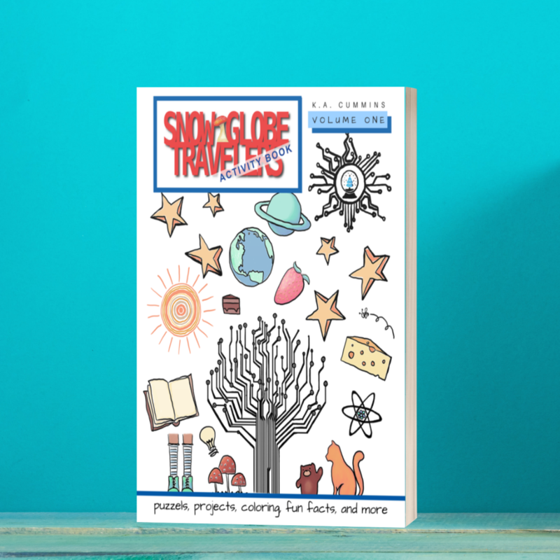 Snow Globe Travelers Activity Book: Volume One