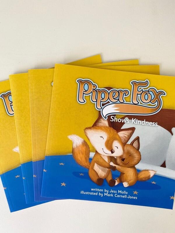 Piper Fox Shows Kindness- Soft Cover