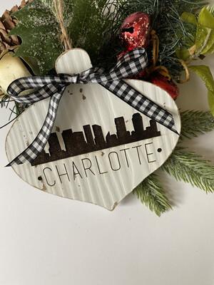 CHarlotte Rustic Ornament!