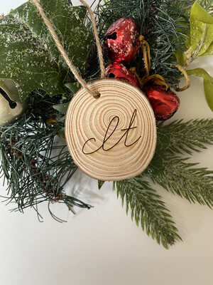 CLT mini Ornament