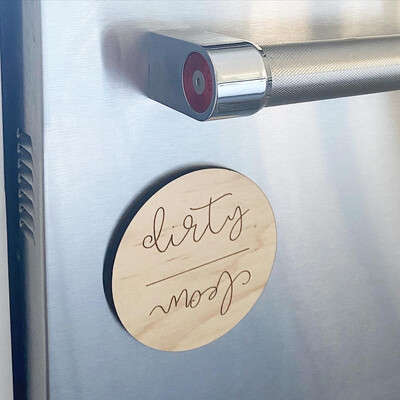Clean/Dirty Dishes Magnet