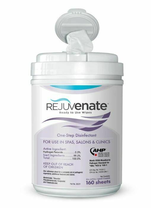 Rejuvenate Disinfectant Wipes 160ct