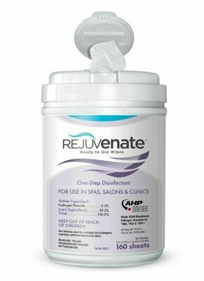 Rejuvenate Disinfectant Wipes 160ct
