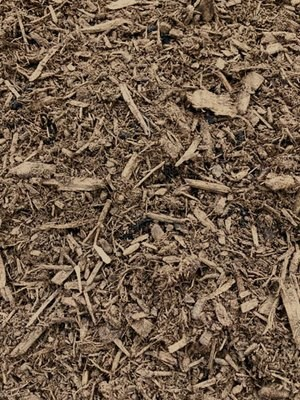 Hardwood Natural Brown Mulch - BY THE YARD